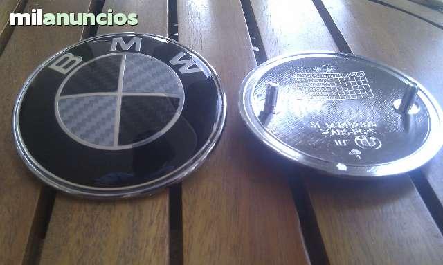 EMBLEMAS BMW CARBONO FRONTAL Y TRASERO - foto 2
