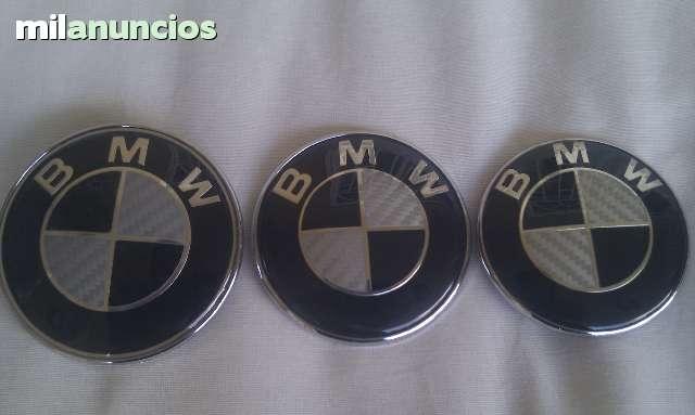 EMBLEMAS BMW CARBONO FRONTAL Y TRASERO - foto 1