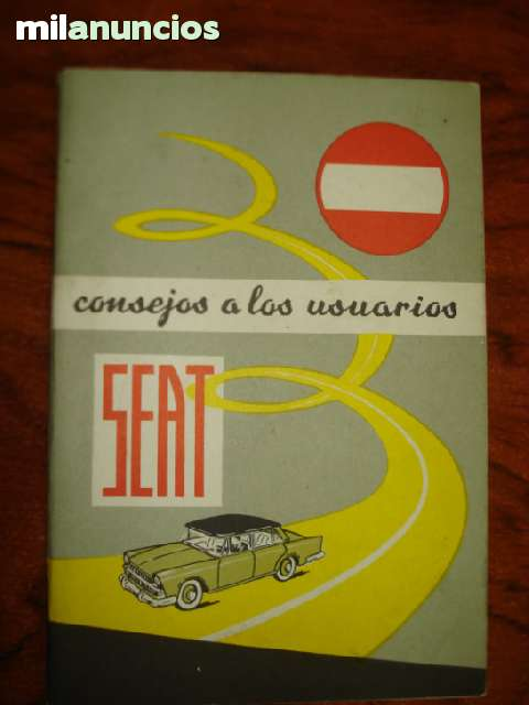 LIBRO CONSEJO A LOS USUARIOS  SEAT 1973 - foto 1