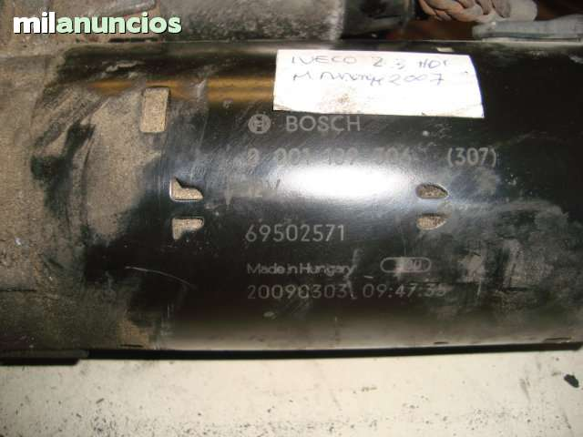 MOTOR DE ARRANQUE IVECO 2. 3HDI (07) - foto 2