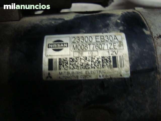 MOTOR DE ARRANQUE NISSAN CABSTAR 130 CV - foto 2
