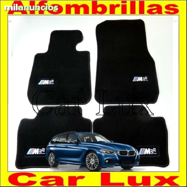 Alfombra Cubeta maletero BMW serie 3 Touring F31 desde 2012 con Antideslizante