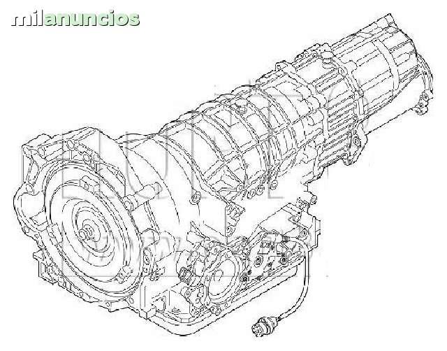 CAJA CAMBIO AUTOMATICA AUDI A6 5HP19 EYJ