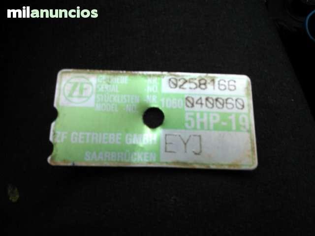 CAJA CAMBIO AUTOMATICA AUDI A6 5HP19 EYJ - foto 2
