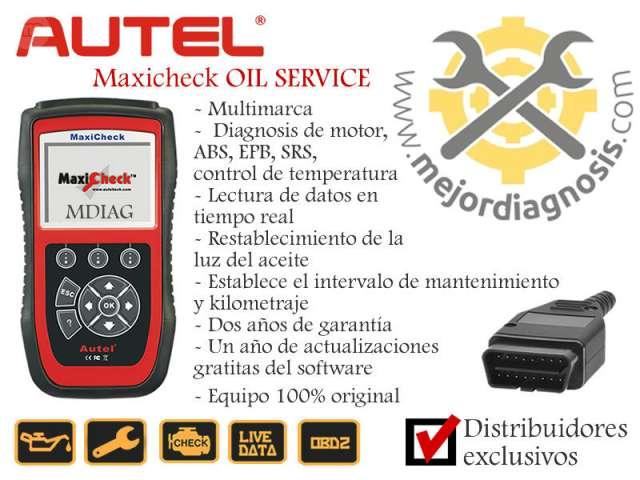 MÁQ DIAGNOSIS AUTEL MAXCHECK OIL SERVICE - foto 1