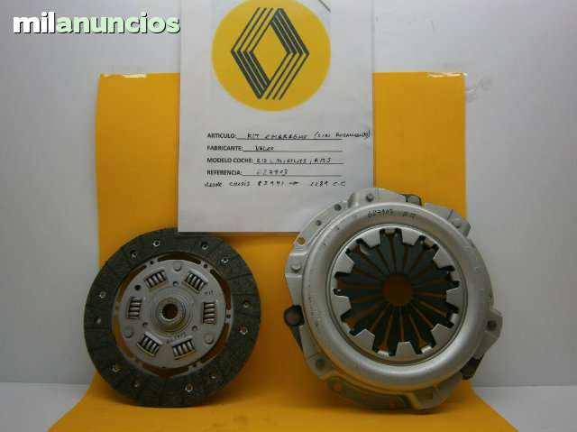 KIT EMBRAGUE RENAULT 12 - foto 1
