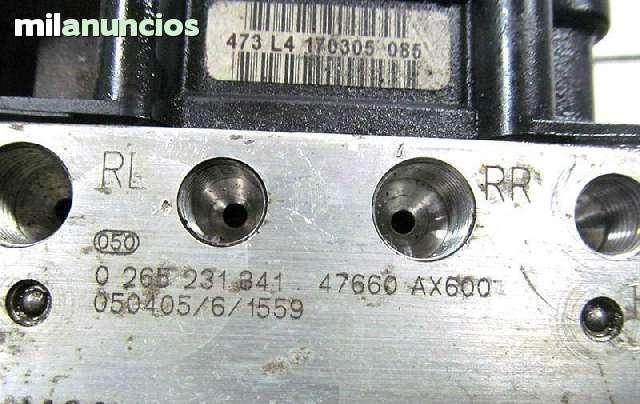 MODULO ABS NISSAN MICRA 0265231341 BOSCH - foto 2