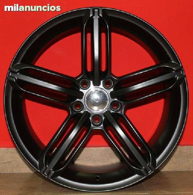 JUEGO DE LLANTAS AUDI RS6 NEW BLACK 18 - foto 3