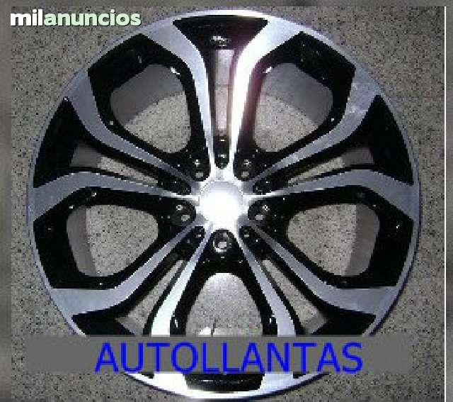 JUEGO LLANTAS BMW X5 BLACK NEW ORDER 20 - foto 2