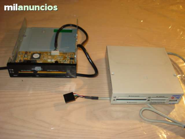 MULTILECTORES TARJETAS MEMORIA FLASH USB