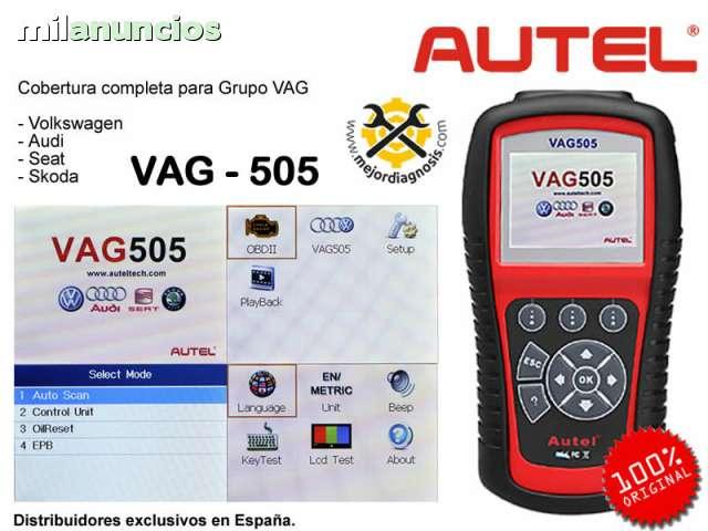 MÁQUINA DE DIAGNOSIS AUTEL VAG505 - foto 1
