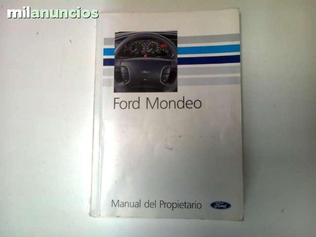 MANUAL DEL PROPIETARIO FORD MONDEO - foto 1