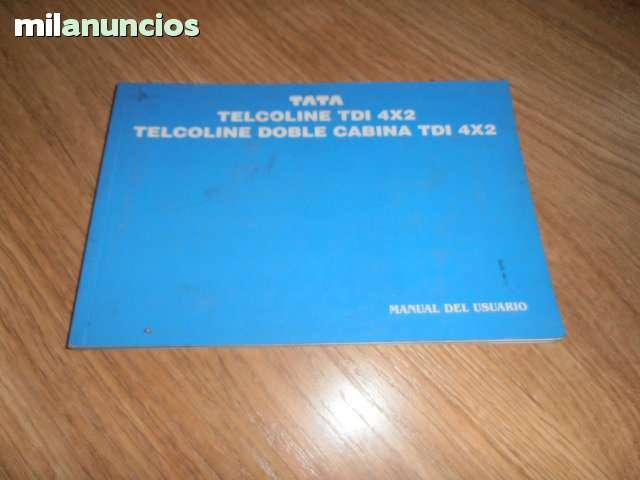 MANUALES TATA TELCOSPORT TELCOLINE - foto 1