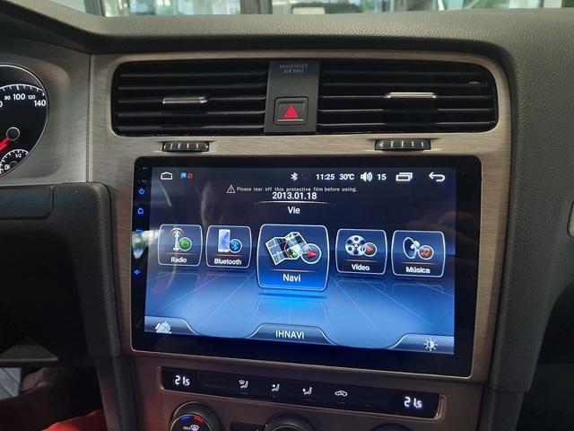 "RADIO NAVEGADOR ANDROID 10\"" VW GOLF VII - foto 3"
