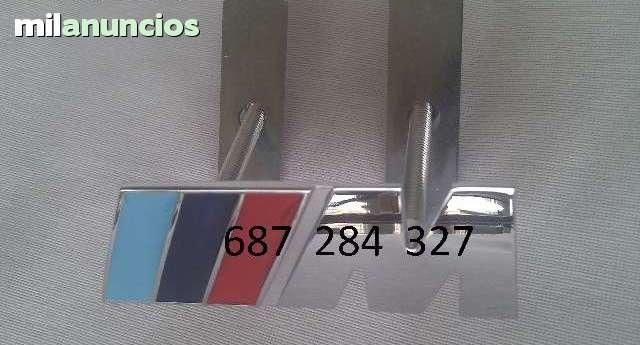 EMBLEMA BMW M FRONTAL  PARRILA DE MÉTAL - foto 3