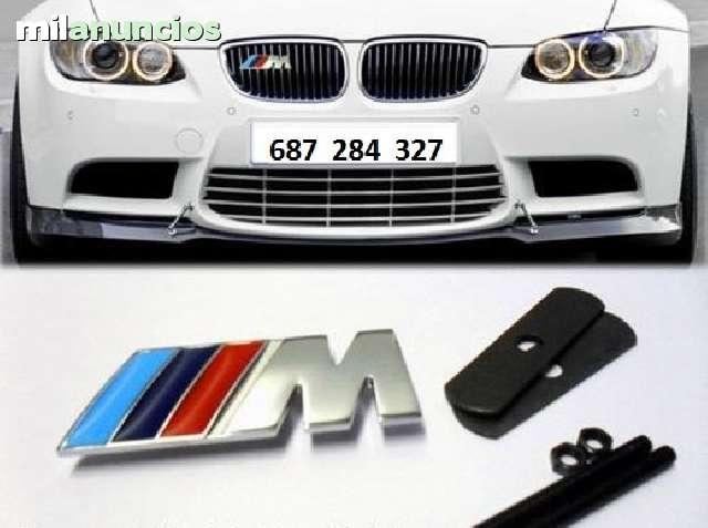 EMBLEMA BMW M FRONTAL  PARRILA DE MÉTAL - foto 4