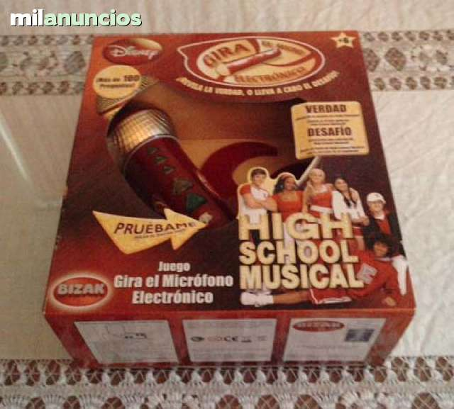 GIRA EL MICROFONO DE HIGH SCHOOL MUSICAL