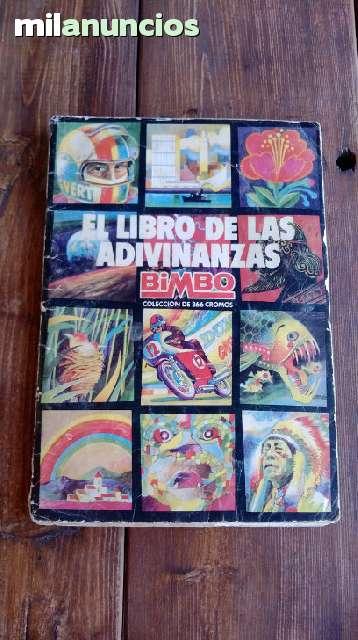 Album De Cromos Mundo De Las Adivinanzas