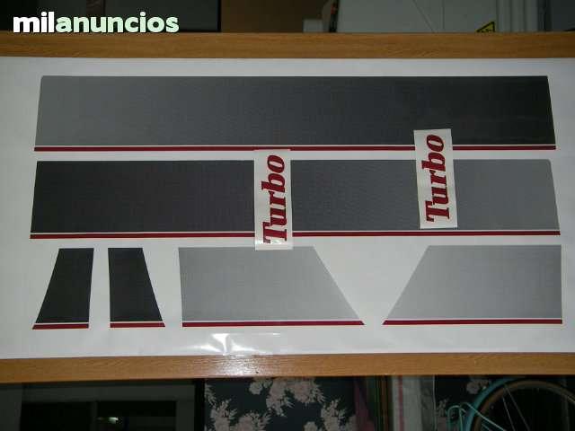 PEGATINAS RENAULT 5 GT TURBO.  FASE 1 - foto 1