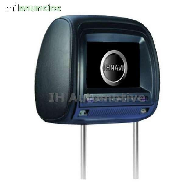 2X REPOSA CABEZAS 7 DVD USB SD JUEGOS - foto 4