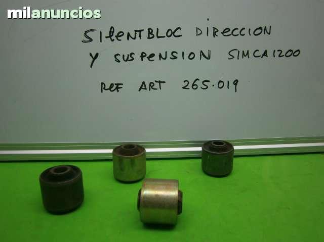 SILENTBLOC SIMCA 1200 DIRECCION Y SUSP.  - foto 1