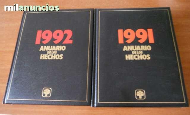 ANUARIO DE LOS HECHOS AÑO 1991 - foto 1