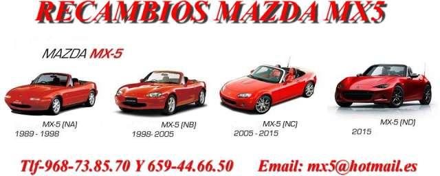 CAJA DE CAMBIOS DE 6 V.  MAZDA MX5 NB - foto 4