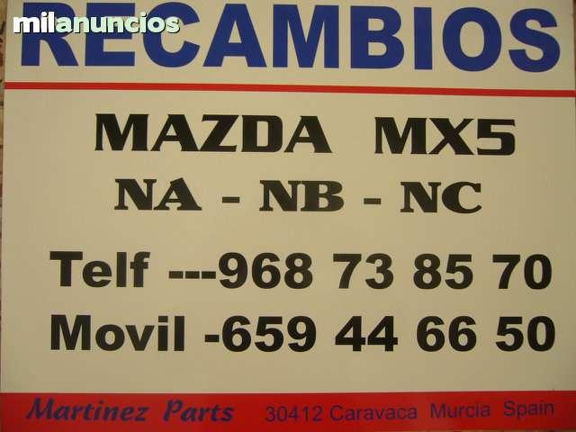 CUBRECARTER MAZDA MX5 MIATA MODELO NB - foto 2