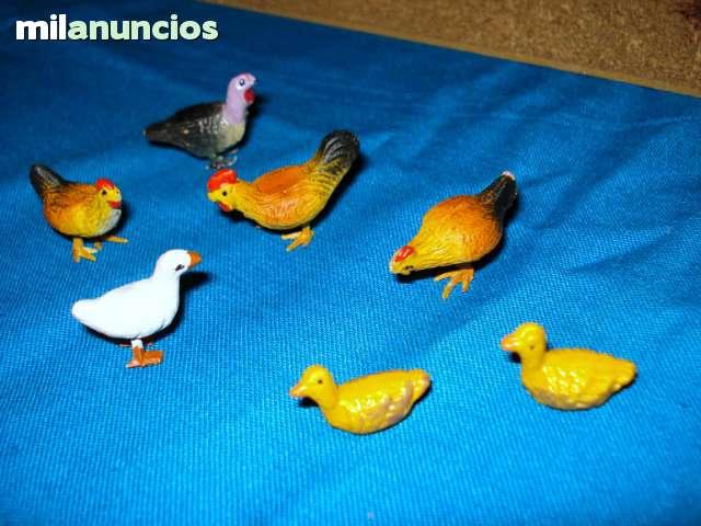 VENDO FIGURITAS DE ANIMALES PARA BELEN