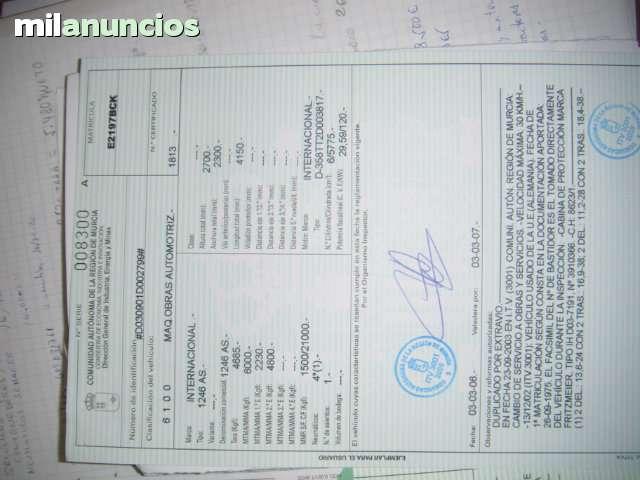 TRACTOR CASE INTERNACIONAL 1246 A - foto 6