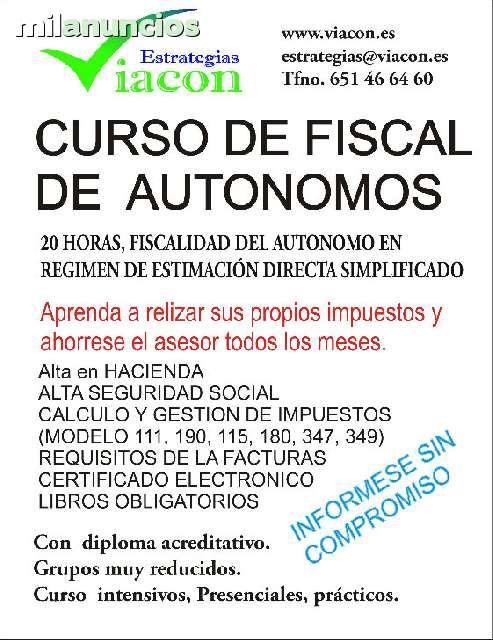 CURSO DE FISCALIDAD DEL AUTONOMO - foto 1