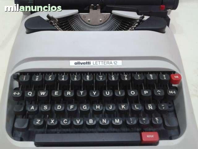Maquina Escribir Olivetti   Lettera12