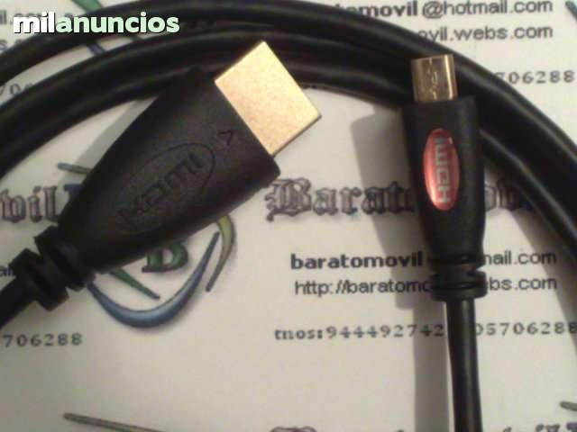CABLES MICRO HDMI A HDMI 1. 4V