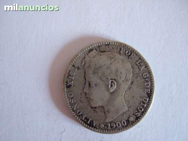 1 Pesetas Alfonso Xiii  De 1900