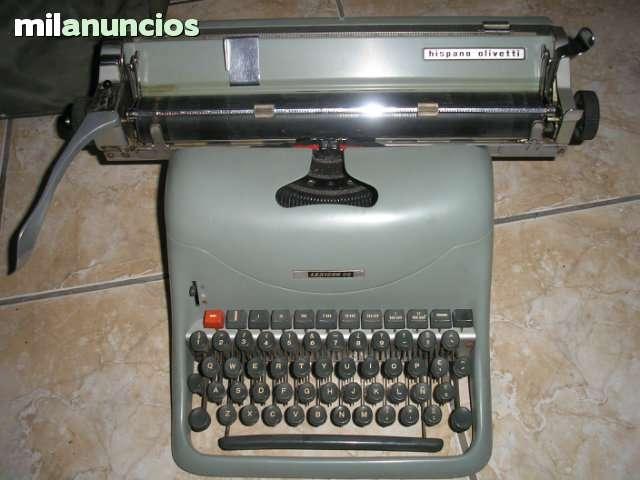Maquina Olivetti  Hispano Lexicon 80