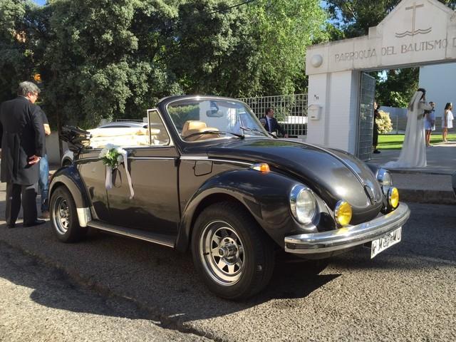 ALQUILER VW ESCARABAJO CABRIO 1973 BODAS - foto 5