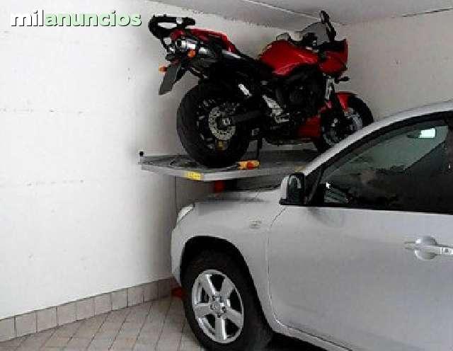 ELEVADOR MOTOS PARA GARAJE - foto 1