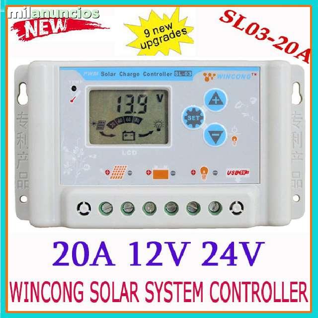 Regulador Solar 20A