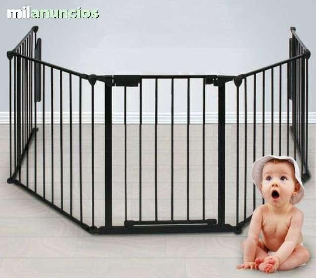 b0af7607497e MIL ANUNCIOS.COM - Parque y barrera seguridad niños bebes