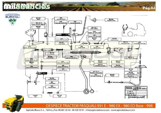 REPUESTOS Y RECAMBIOS TRACTORES PASQUALI - foto 4