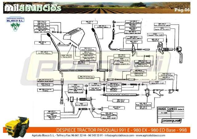 REPUESTOS Y RECAMBIOS TRACTORES PASQUALI - foto 6