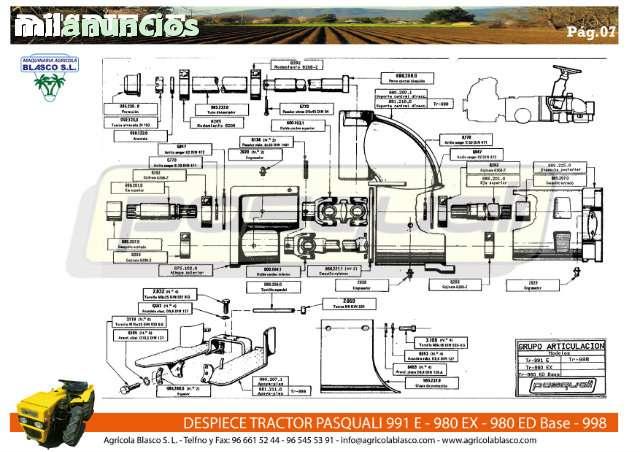 REPUESTOS Y RECAMBIOS TRACTORES PASQUALI - foto 7