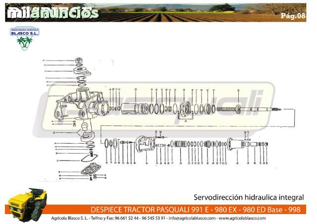 REPUESTOS Y RECAMBIOS TRACTORES PASQUALI - foto 8