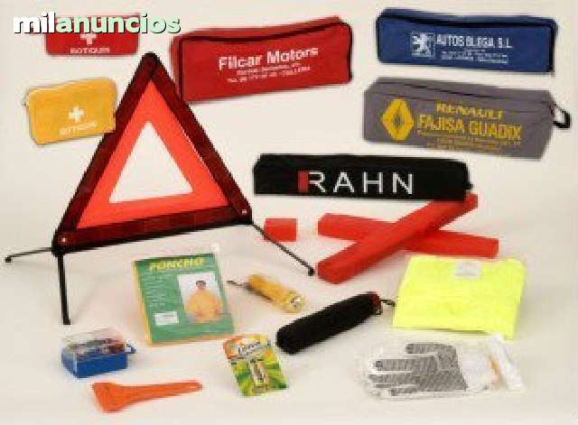 65087c9d7 MIL ANUNCIOS.COM - Triangulos de emergencia. bolsa. kit.