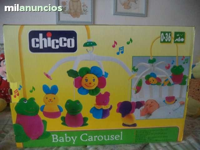 BABY CAROUSEL SEMINUEVO DE CHICCO