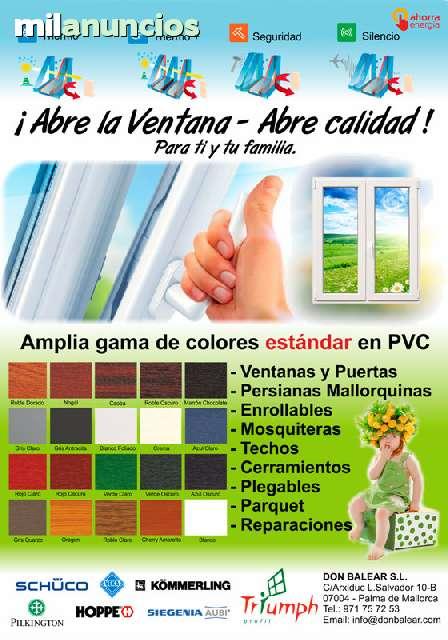DON BALEAR S. L.  - VENTANAS PVC MALLORCA - foto 6