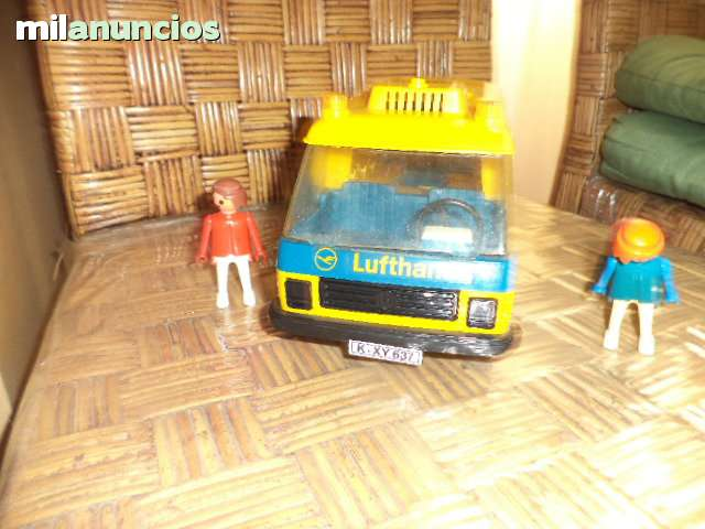 PLAYMOBIL 3255 LUFTHANSA BUS AUTOCARES D