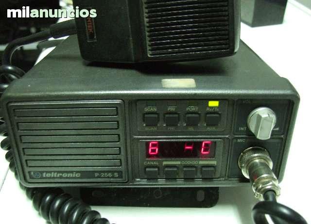 EMISORA TELTRONIC P-256 VHF - foto 4