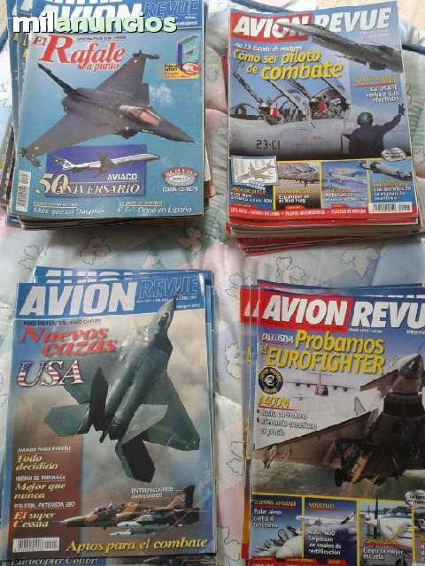 Lote Revistas Avion Revue