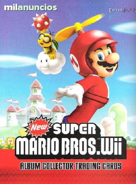 Wii-cromos New Super Mario Bros 10 bolsas